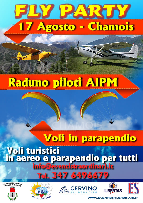 chamois fly party 2014