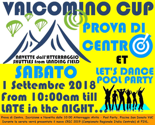 valcomino cup 2018 party